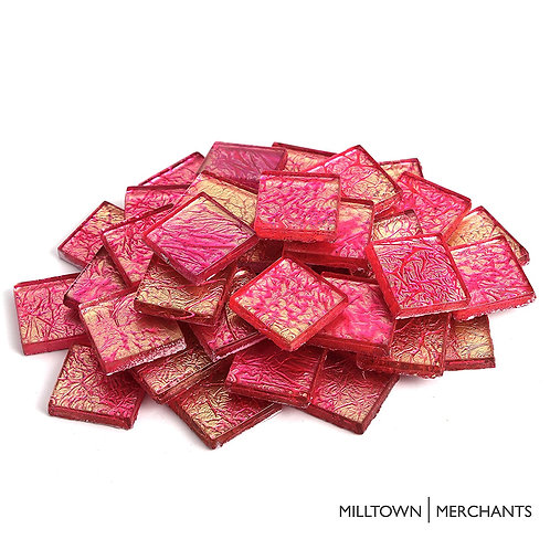 Strawberry Foil Tile 20mm