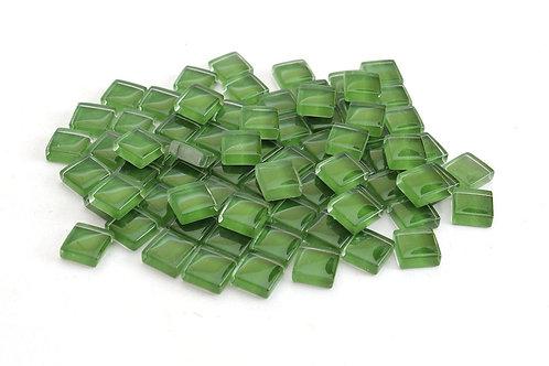 Green Crystal Mosaic Tile - 4/10 Inch