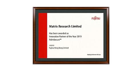 Fujitsu certificate