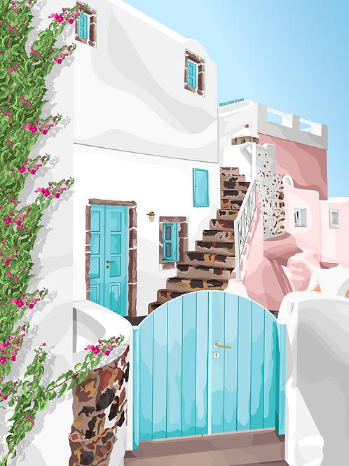 Greece Print