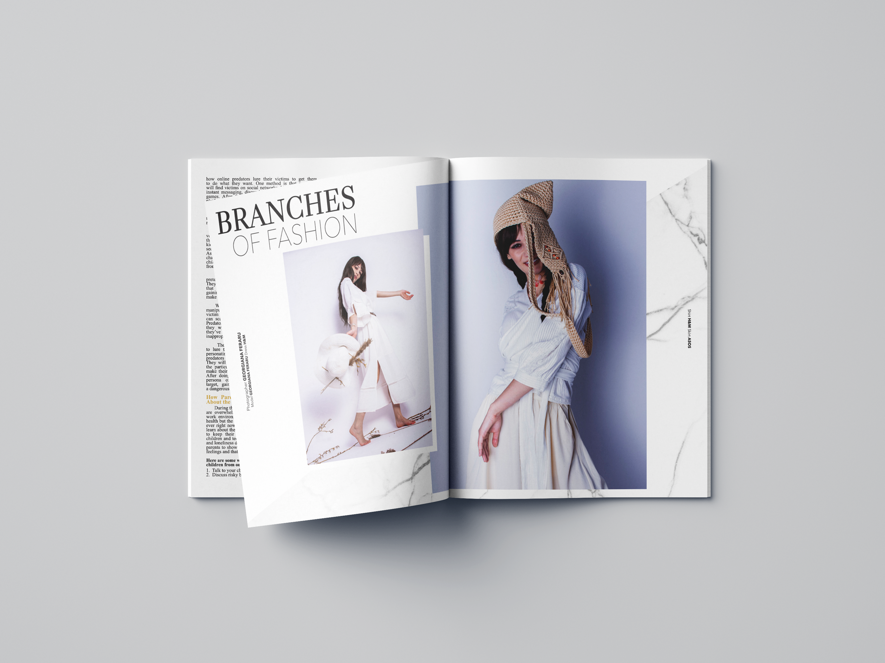Branches of Fashion Photo Editorial