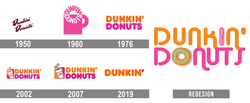 Dunkin Donuts Logo Redesign