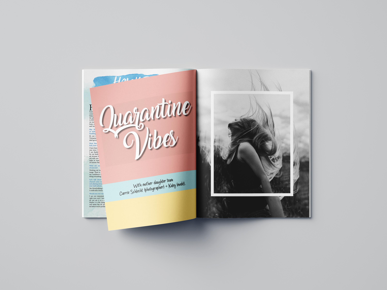 Quarantine Vibes Photo Editorial