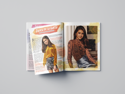 Danica de La Garza Editorial Spread