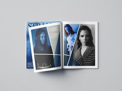 Strange Blue Photo Editorial