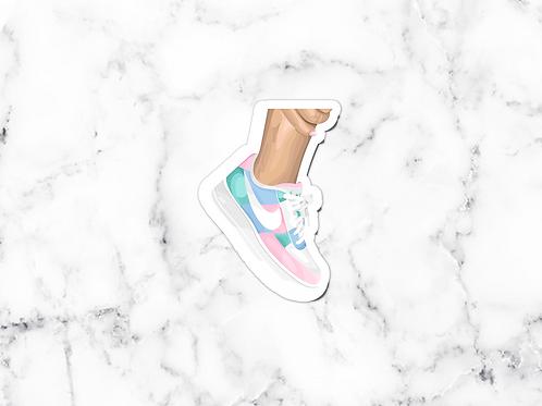 Pastel Sneakers Sticker