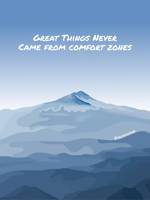 Comfort Zones Print