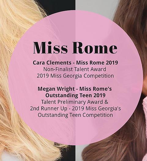 Miss Rome 2020