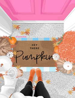 Hey There Fall Mat
