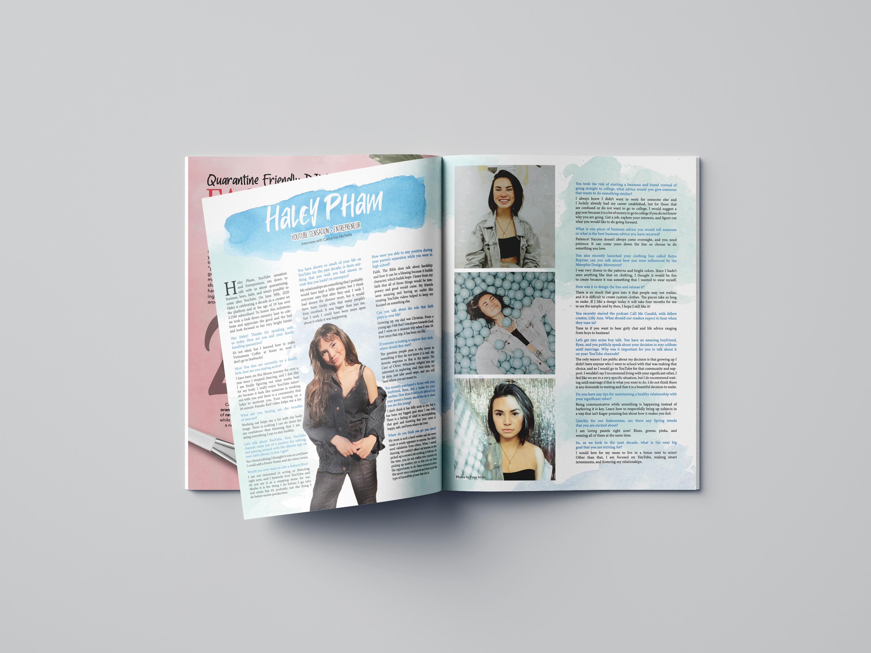 Haley Pham Editorial Spread