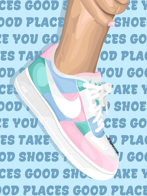 Good Shoes Print
