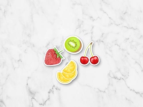 Fruit Sticker Multipack