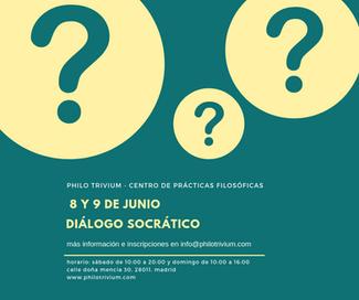 Diálogo Socrático 8 y 9 de junio
