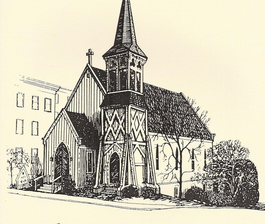 Episcopal Church sketch
