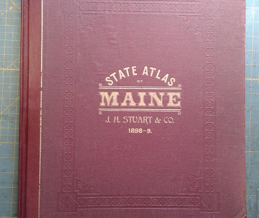 State Atlas of Maine, restored