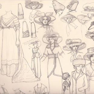 1910-12 research sketch