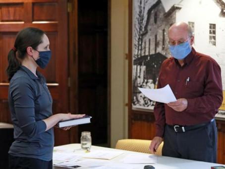 New Town Council Member Sworn In
