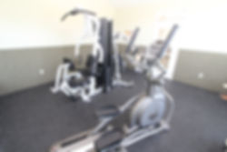 Clubhouse fitness center at Cherry Hill Apartments for rent in Erie, PA