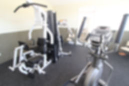 Clubhouse fitness center at Eastwood Arms Apartments in Niles, OH