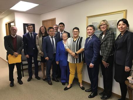 KAZAKHSTAN JUDGES VISIT RSCCM