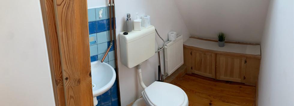Toaleta na piętrze