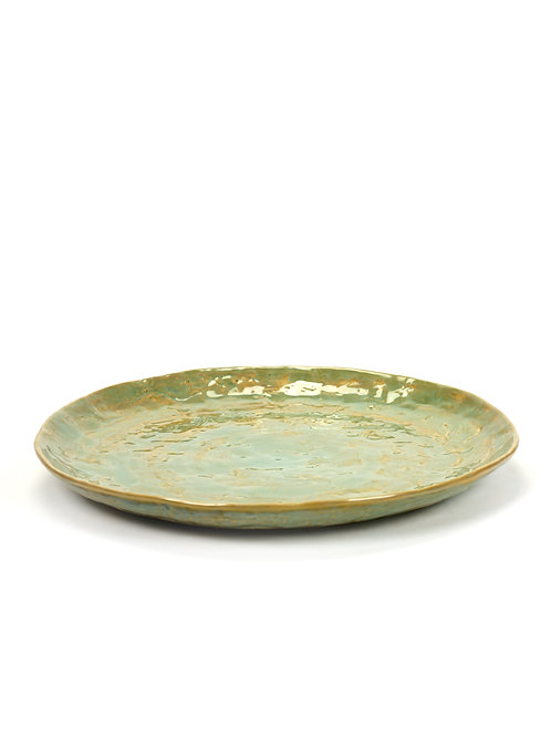 PLATE L D28 H2,8 SEAGREEN