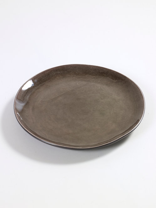 PLATE ROUND SMALL D20,5 H19 GREY