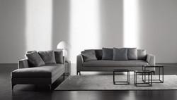 Chaiselongue mit Sofa