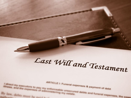 It's Never Too Soon to Draw up a Will