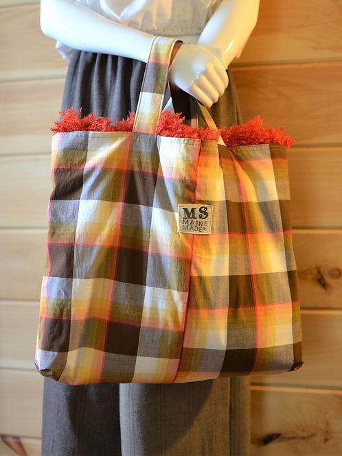 Davis Reversible Carryall Tote Weekend Market Bag