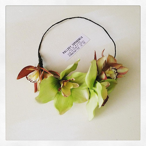 Cymbidium Orchid Flower Crown