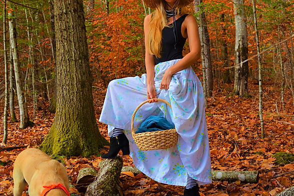 Fanciful frocks handmade for forest frolicking