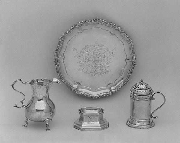 Jacob Hurd Silver circa 1730, as featured in The Met Museum.  Image via MetMuseum.org