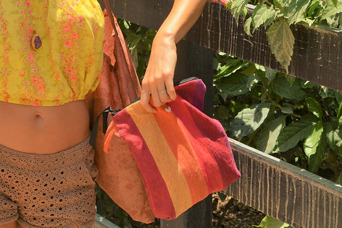 Rita Zippered Clutch Pouch Bag