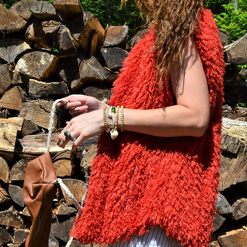 Farmington Full Length Faux Fur Vest