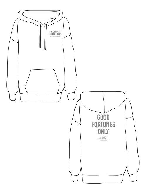 Good Fortunes Only Sweatshirt Loungewear Top Hoodie