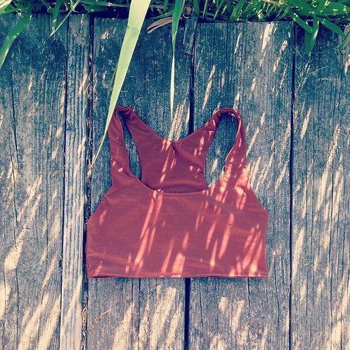 Sorrento Stretch Racer-Back Bikini Top/ Sports Bra