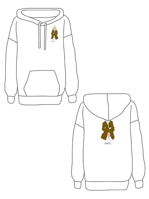 Wicked Warm Sweatshirt Loungewear Top Hoodie