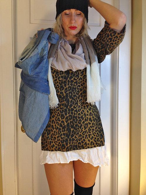 Wild At Heart Animal Print Tunic Dress