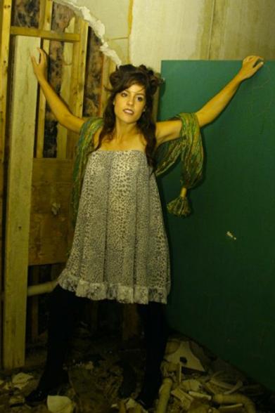 Ashland Animal Print And Lace Strapless Mini Dress