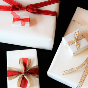 Gifting is Receiving:  Gift Wrapping