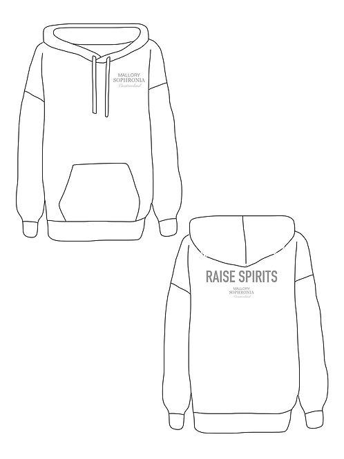Raise Spirits Sweatshirt Loungewear Top Hoodie