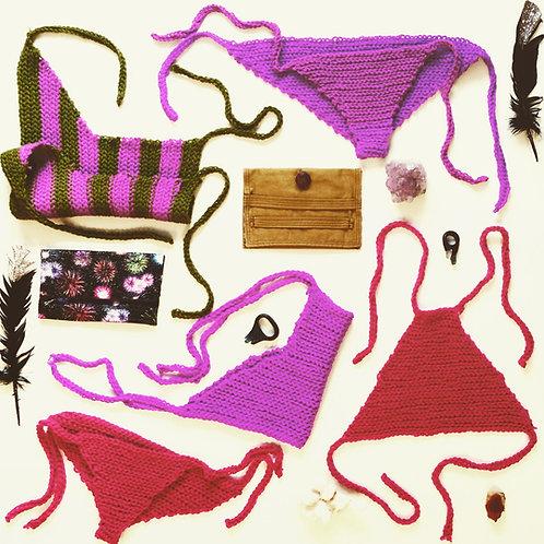 Shine On Star Crochet Bikini Bottoms