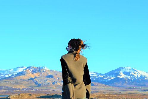 Iceland Fleece Turtleneck Pullover