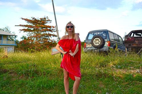 Red Siren Soft Strappy Jumper Dress