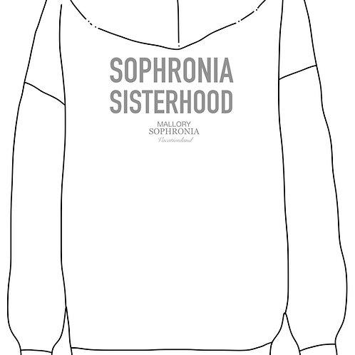 Sophronia Sisterhood Sweatshirt Loungewear Top Hoodie