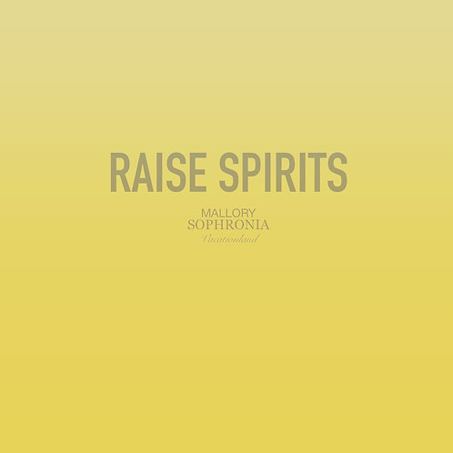 Raise Spirits Print Poster Card Illustration Wall Decor