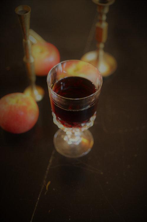 Camden Crystal Vintage Glass Wine Goblet