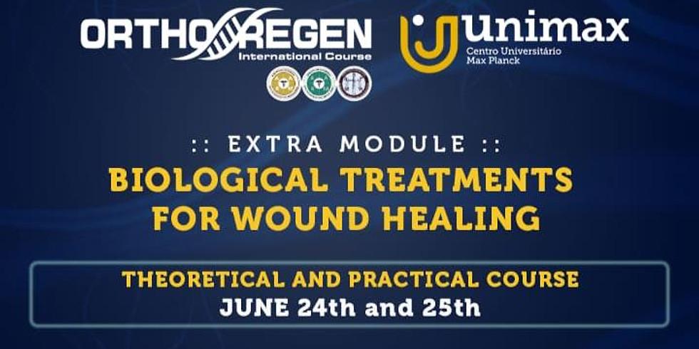 Curso de Tratamentos Biológicos para Cicatrização