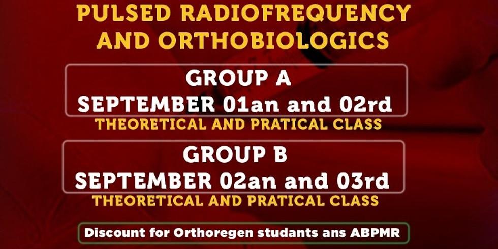 Curso de Radiofrequência Guiado por Ultrassom - Turma A 01 a  03 setembro